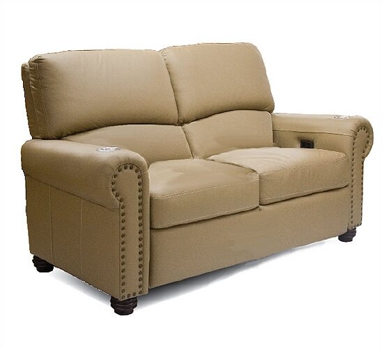 Showtime Home Theater Loveseat By Bass