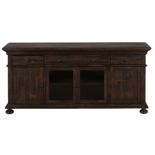 Domingo Wooden Media Console 70 TV Stand by Canora Grey