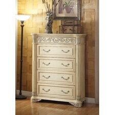 Amber 4 Drawer Chest by Astoria Grand