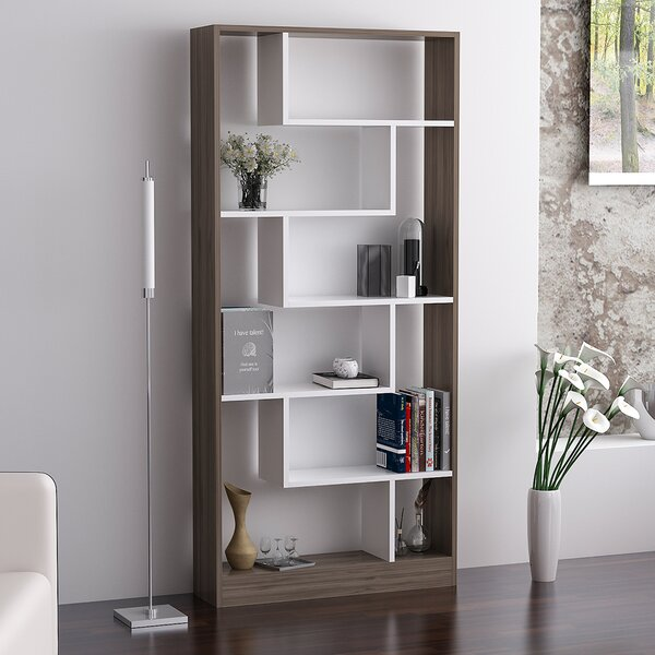 Khadijah Geometric Bookcase by Ivy Bronx