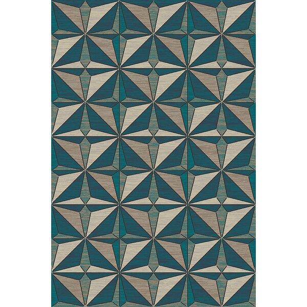 Cosper Beige/Gray Area Rug by Ebern Designs