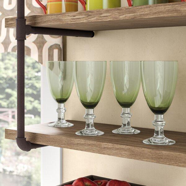 Isham 18 Oz. Glass (Set of 4) by World Menagerie