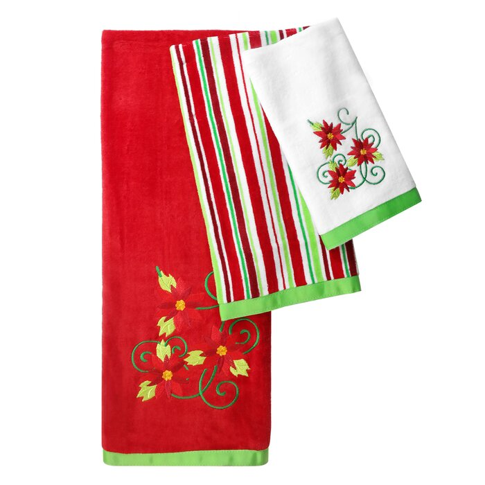 Marielle 3 Piece Cotton Towel Set