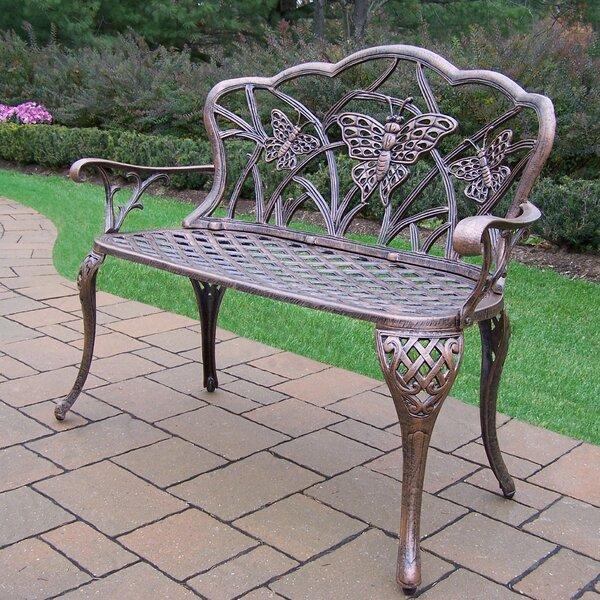 Butterfly Aluminum Garden Bench by Oakland Living