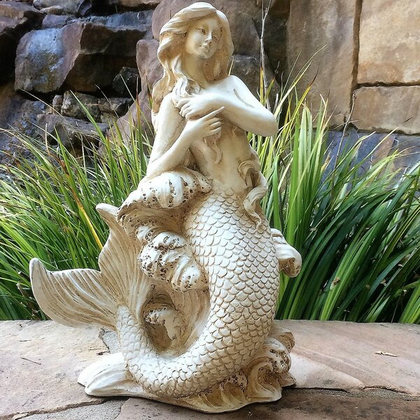 Hewett Mermaid Assortment 3 Piece Statue by Highland Dunes