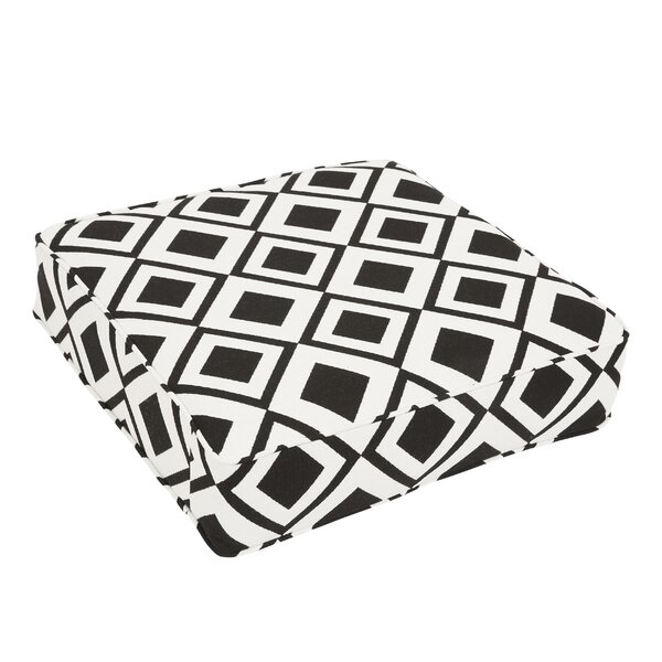 Bartsch Savvy Onyx Square Indoor/Outdoor Floor Pillow by Brayden Studio