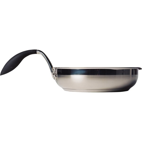 Stainless Steel Non-Stick Frying Pan by EAZIGRIP