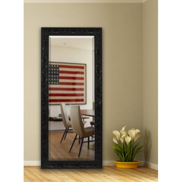 Black Rectangle Wall Mirror by Fleur De Lis Living