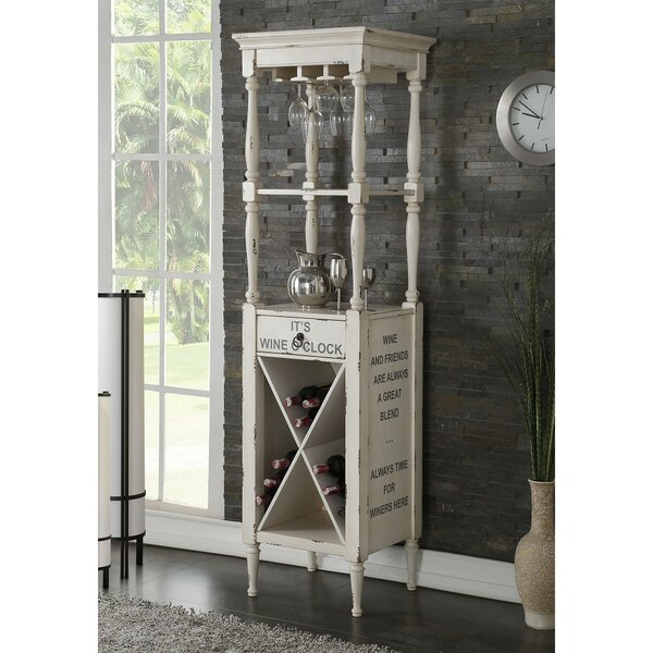 Tasker Bar Cabinet With Wine Storage By Canora Grey