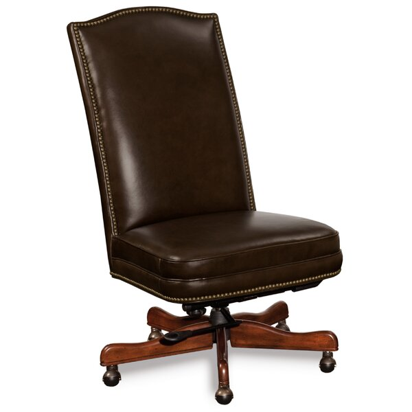 Conference Leather Desk Chair by Hooker Furniture