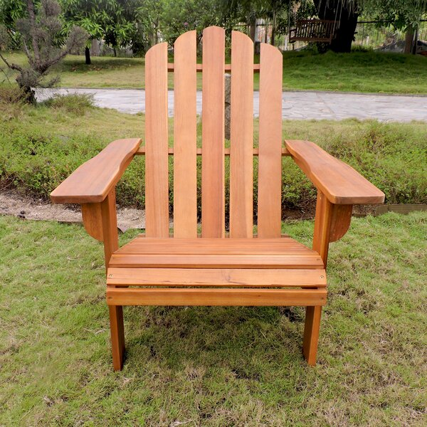 Maly Somerville Wood Adirondack Chair by Loon Peak