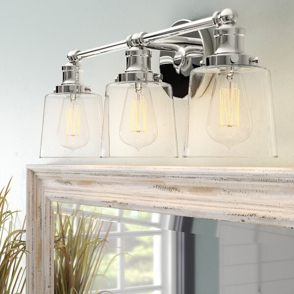 Woodburn 3-Light Vanity Light by Beachcrest Home