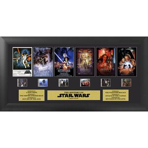 Star Wars FilmCell Framed Vintage Advertisement by Trend Setters