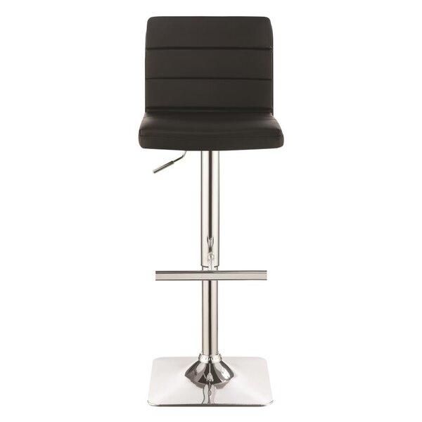Groner Adjustable Height Bar Stool (Set of 2) by Brayden Studio