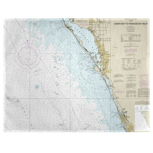 Venice, FL 18 Placemat (Set of 4) by East Urban Home