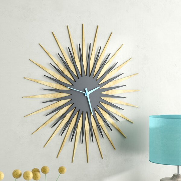 Oversized 23 Atomic Wall Clock by Langley Street