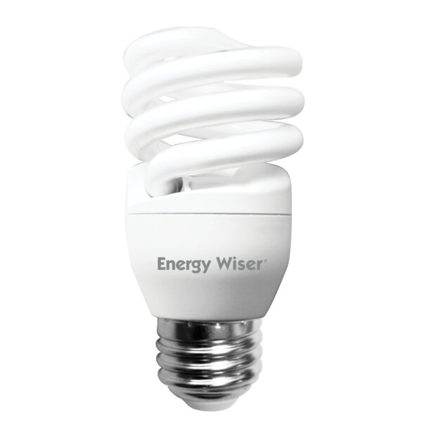 13 Watt Super Mini Low-Mercury Compact Fluorescent Light Bulb (Set of 8) by Bulbrite Industries