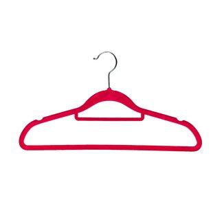 Best Deals Velvet Multipurpose Coat Hanger (Set of 10) By BriaUSA