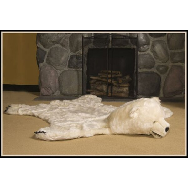 White Bear Area Rug by Queens of Christmas