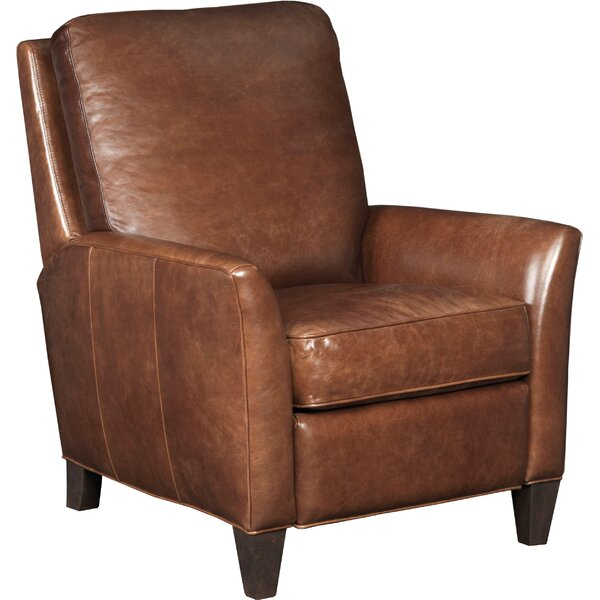 Balmoral Albert Leather Recliner by Hooker Furnitu