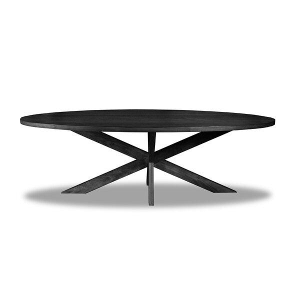 Macedo Solid Wood Dining Table by Ivy Bronx