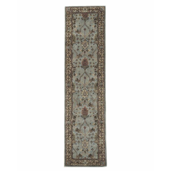 Morris Hand-Tufted Blue Area Rug by Eastern Rugs