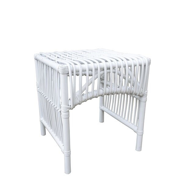 Forsan Rattan Side Table By Bay Isle Home