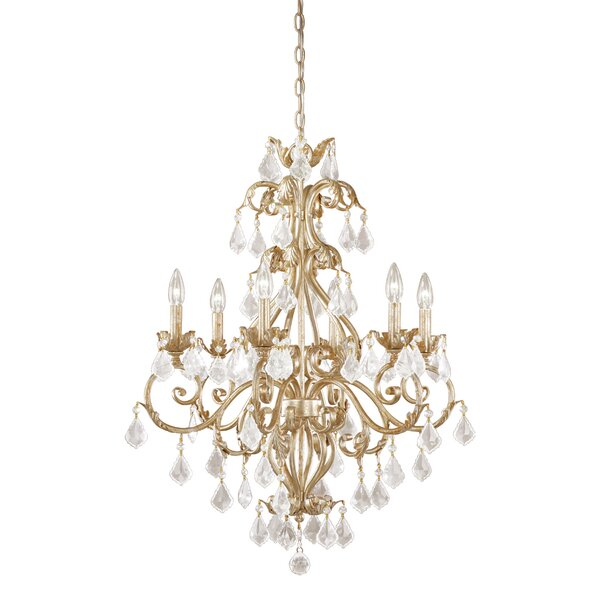 Prosser 6-Light Candle Style Tiered Chandelier by Astoria Grand Astoria Grand