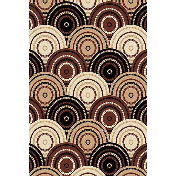Magee Brown/Beige Area Rug by Latitude Run