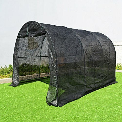 New Hot Large Walk-In Plant Gardening 7 Ft. W x 7 Ft. D  Greenhouse by Sunrise Outdoor LTD