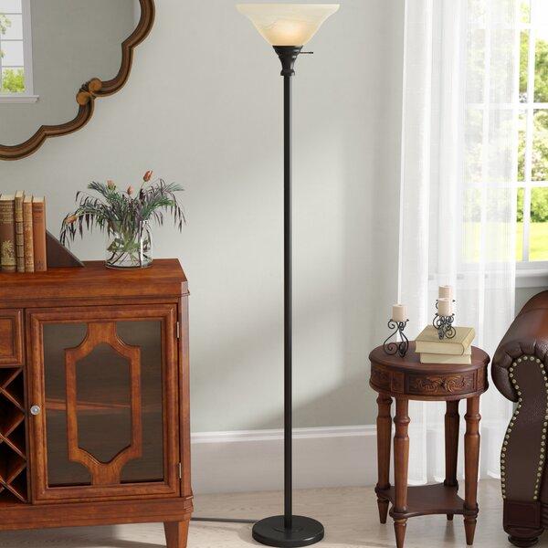 Sagers 70 Torchiere Floor Lamp by Red Barrel Studio