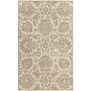 Topaz Hand-Tufted Taupe Area Rug