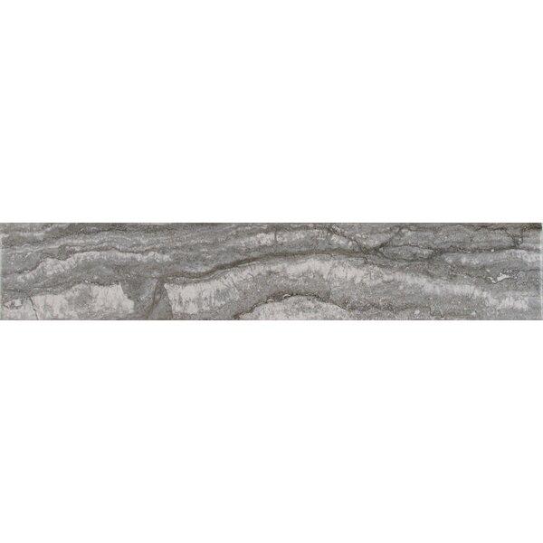 Bernini Carbone 3 x 18 Porcelain Field Tile in Gray by MSI