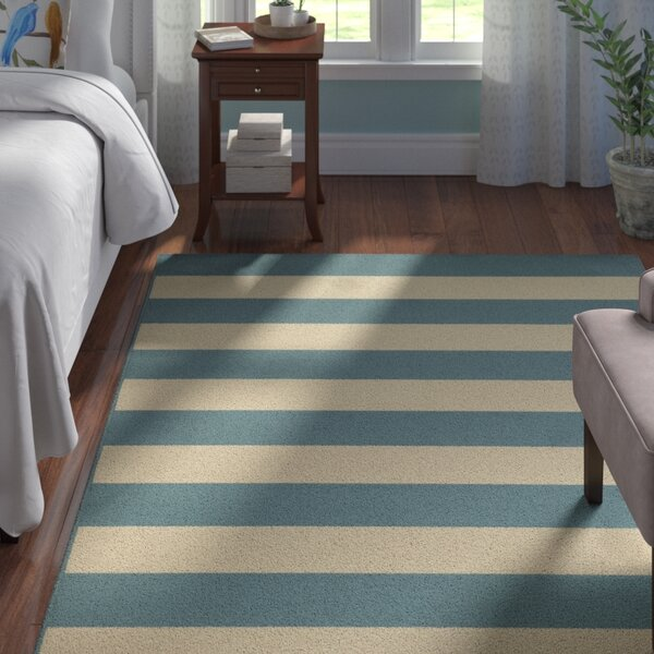 Alford Dark Teal Indoor/Outdoor Area Rug by Andover Mills