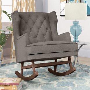 Myrna Rocking Chair by Harriet Bee