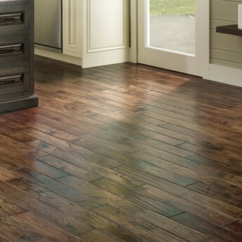 Smokehouse 4.75 Solid Oak Hardwood Flooring in Raleigh by Albero Valley