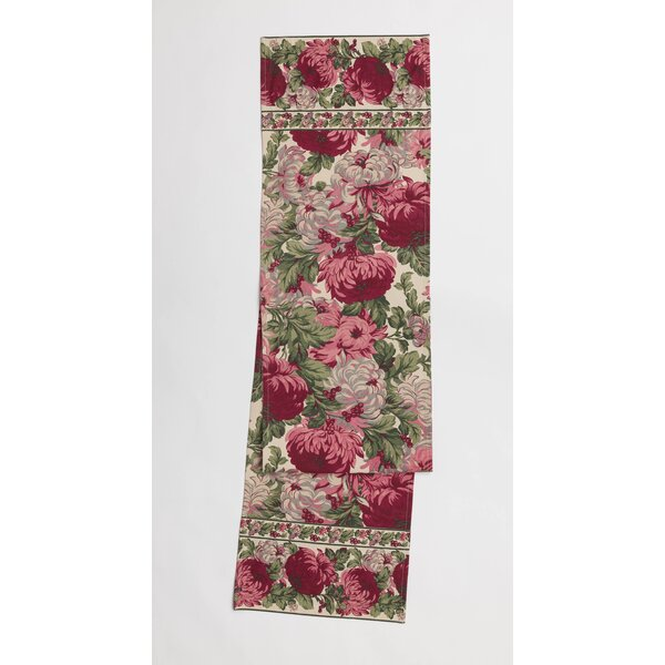 Clearwater Floral Print Table Runner by August Grove
