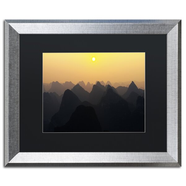 Silhouettes by Philippe Hugonnard Framed Photographic Print by Trademark Fine Art
