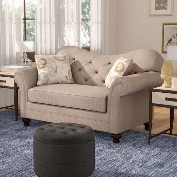 Serta Upholstery Chess Loveseat by Darby Home Co