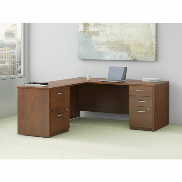 Series C Elite L-Shape Executive Desk by Bush Business Furniture