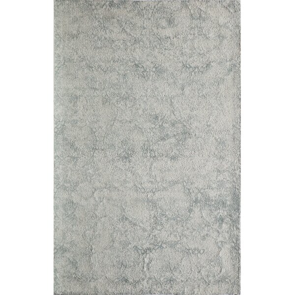 Stanford Hand-Tufted Gray/Ivory Area Rug by Trent Austin Design