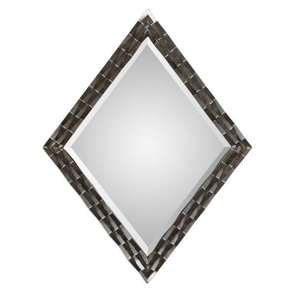 Cadencia Bevel Wall Mirror by Orren Ellis