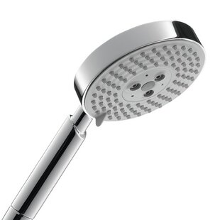 Price Check Raindance S 120 Air Three Jet Rain Rain Shower Head By Hansgrohe