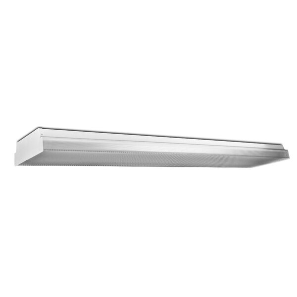 2-Light Fluorescent Wrap Light Fixture by Howard Lighting