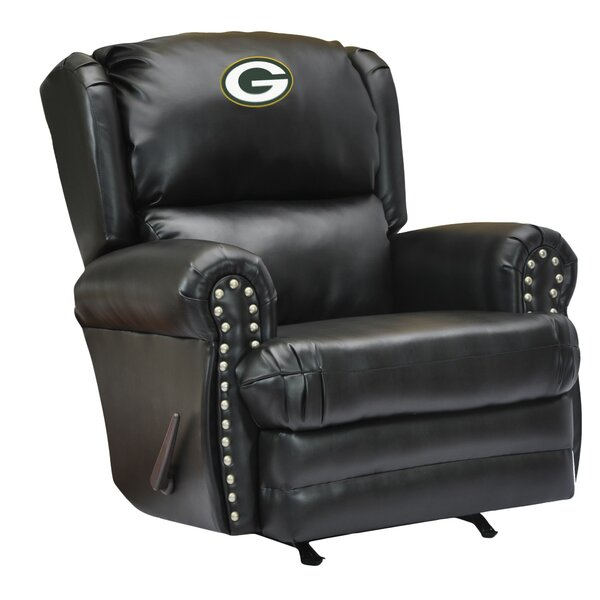 Leather Manual Recliner by Imperial International