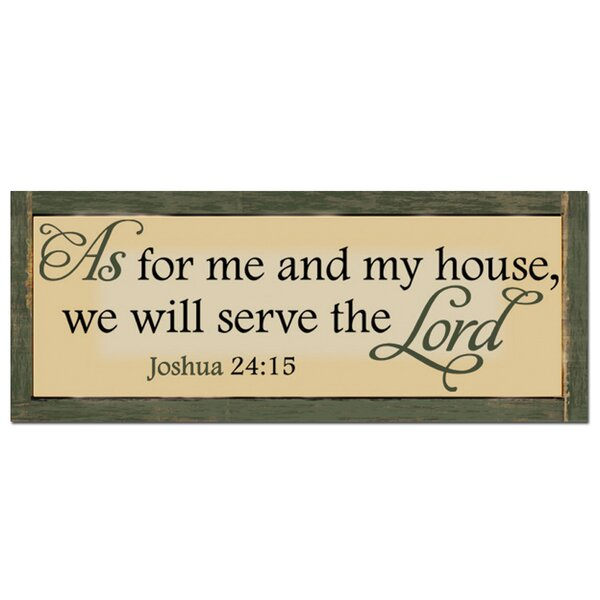 Serve the Lord Textual Art Plaque by African American Expressions