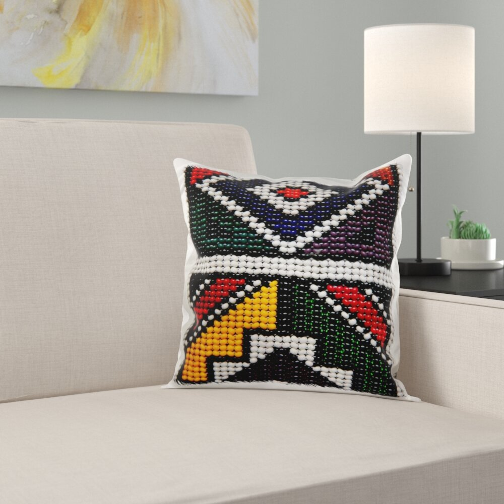 Fine Printed Bead Art Craft South Africa Pillow Cover Onthecornerstone Fun Painted Chair Ideas Images Onthecornerstoneorg
