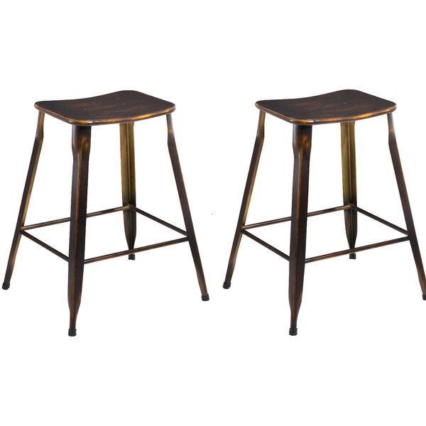 24 Stackable Bar Stool (Set of 2) by Famis Corp