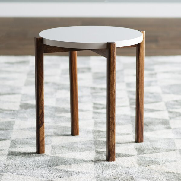 Sorrentino End Table by Mercury Row