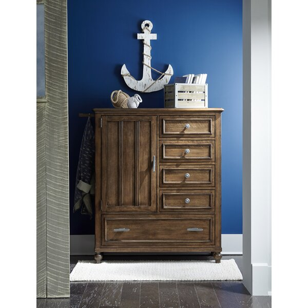 Frankel 5 Drawer Combo Dresser by Harriet Bee